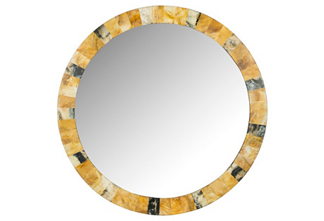 Faux Marbled Mirror, Multi