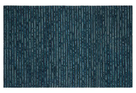 Sumner Jute-Blend Rug, Dark Blue