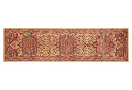 Zarah Rug, Red/Natural