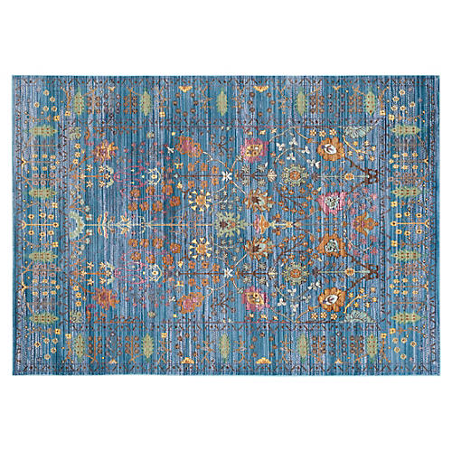 Pello Rug, Blue/Multi