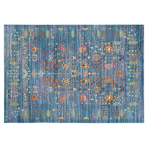 Pello Rug, Blue/Multi