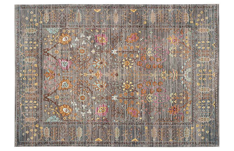 Pello Rug, Gray/Multi