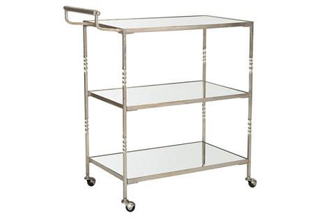 Andrei Bar Cart, Silver