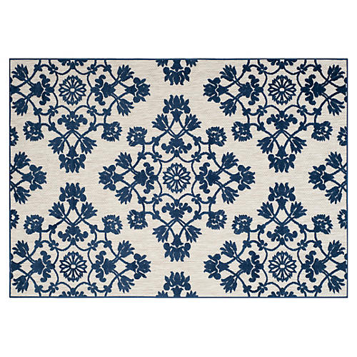 Clovis Outdoor Rug, Cream