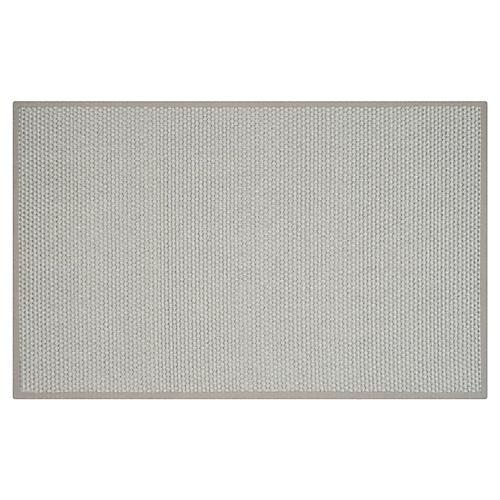 Fagan Sisal Rug, Silver/Gray