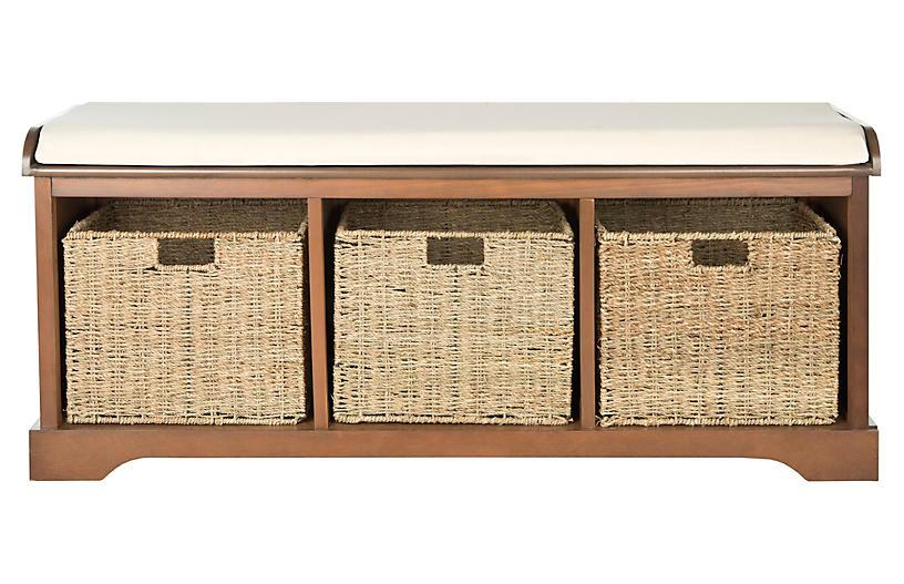 Ada Storage Bench Brown Storage Under 650 Shop By Price