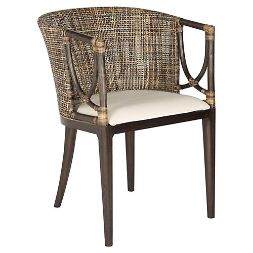 Naia Armchair, Brown