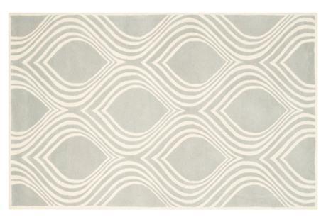 Ambrus Rug, Gray/Ivory