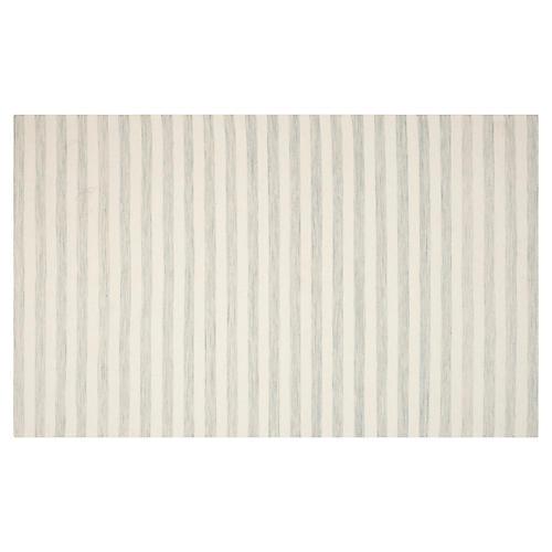 Anyu Flat-Weave Rug, Ivory