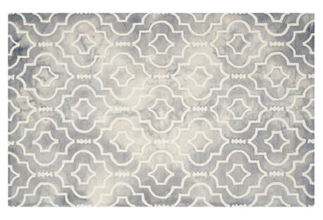 Aluin Rug, Gray/Ivory