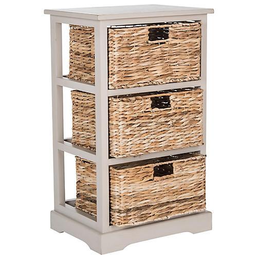 Wren Storage Unit, Gray