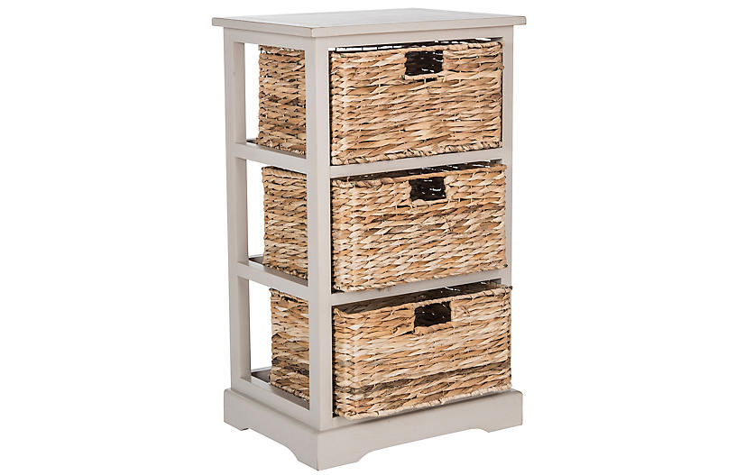 Wren Storage Unit, Gray