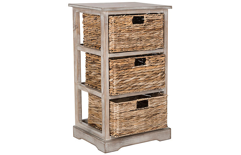Wren Storage Unit, Whitewash