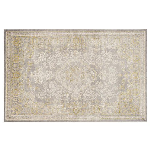 Marcelle Rug, Gray/Green