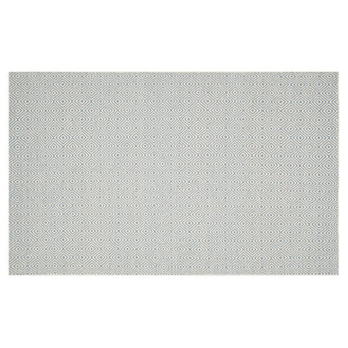 Dusan Rug, Silver/Ivory