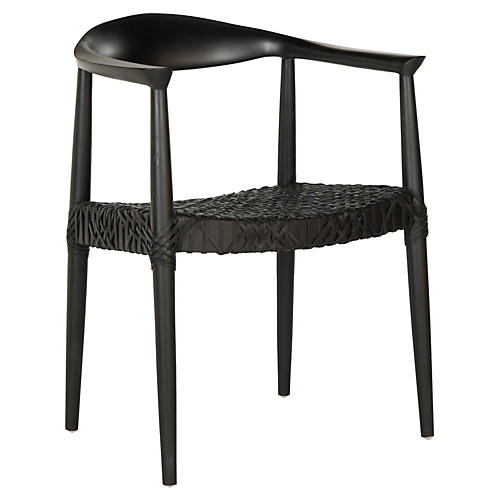 Francesca Armchair, Black