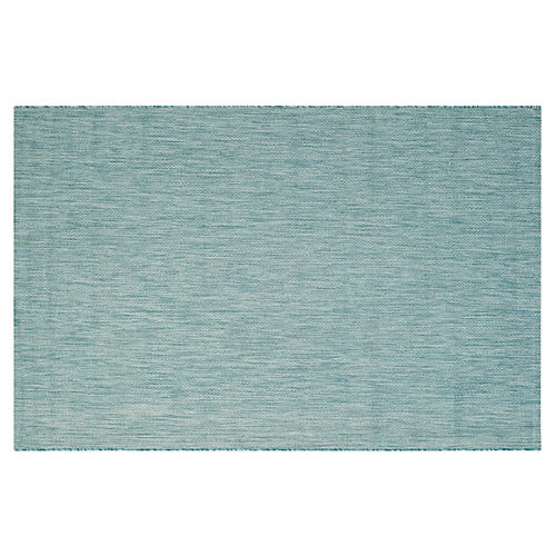 Dafne Outdoor Rug, Aqua