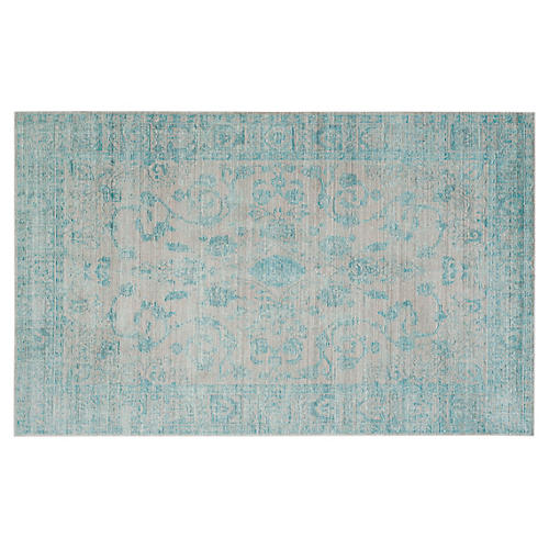 Lennox Rug, Blue/Multi