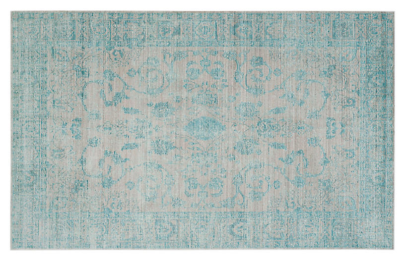 Lennox Rug, Blue/Multi