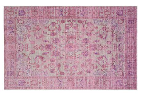 Lennox Rug, Pink/Multi