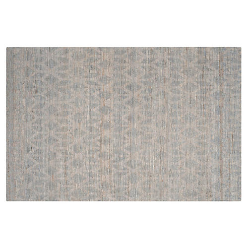 Brewster Jute Rug, Gray/Gold