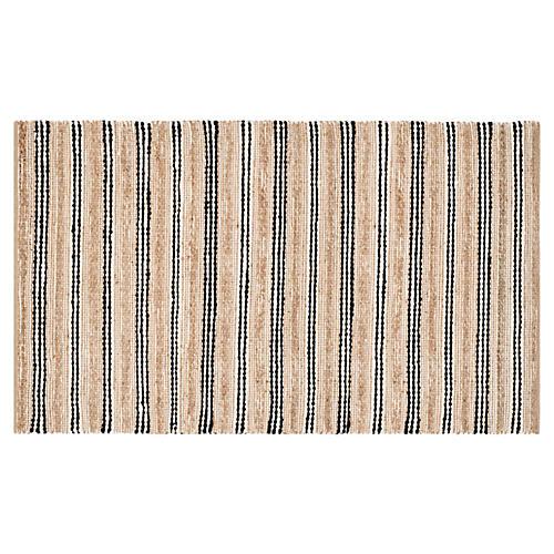 Eastham Jute-Blend Rug, Natural
