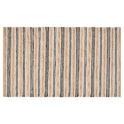 Eastham Jute-Blend Rug, Natural