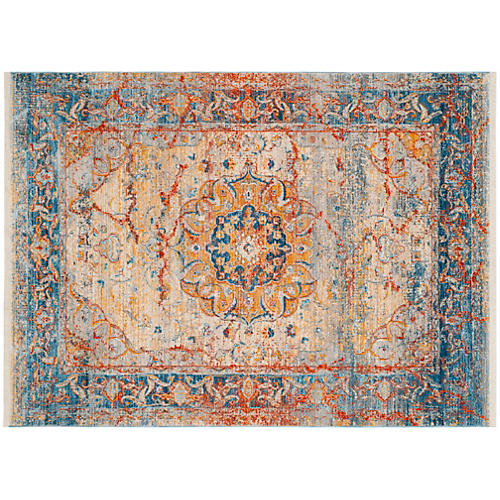 Markus Rug, Blue/Multi