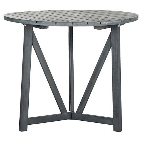 Outdoor Kiera Bistro Table, Gray