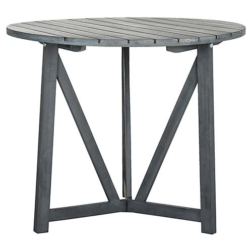 Outdoor Kiera Bistro Table, Gray
