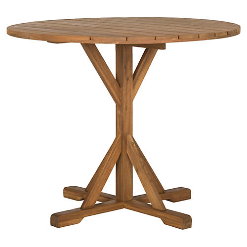 Bailey Side Table, Brown