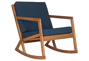 Outdoor Lindsey Rocking Chair, Navy*