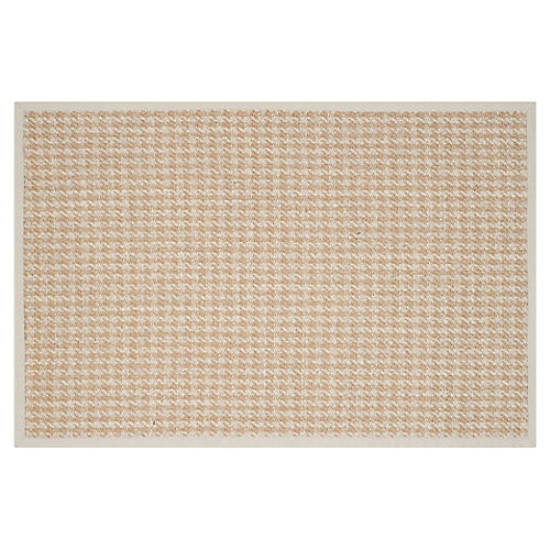 Candacy Sisal Rug, Natural/Light Gray