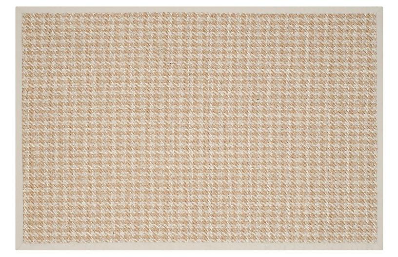 Candacy Sisal Rug, Natural/Light Gray