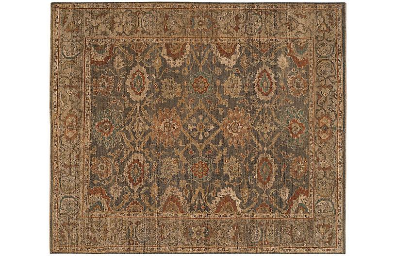 Lana New Zealand Wool Rug, Gold/Multi