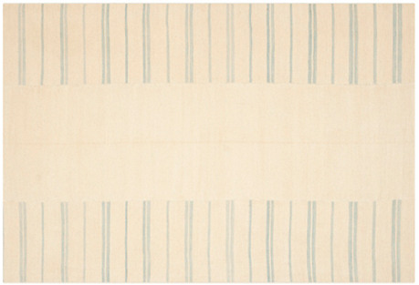 Sagaponeck Stripe Patch Rug, Sky Blue