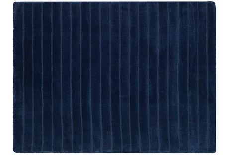 Upper Deck Rug, Navy Blue
