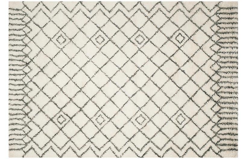 Garrabrant Rug, Ivory/Gray