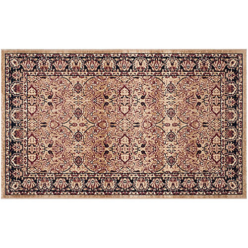Newton Rug, Cream/Navy
