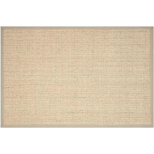 Wall Sisal Rug, Light Gray
