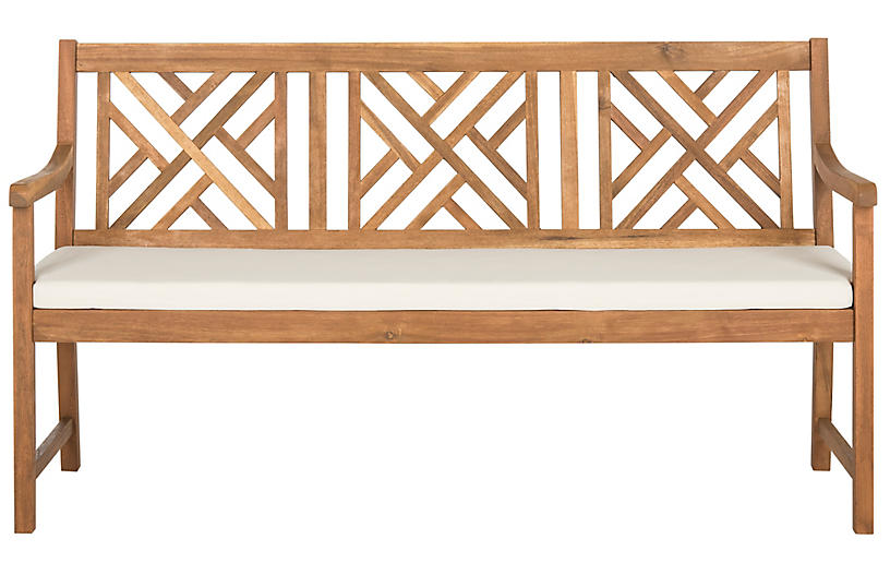 Bradbury Bench, Natural