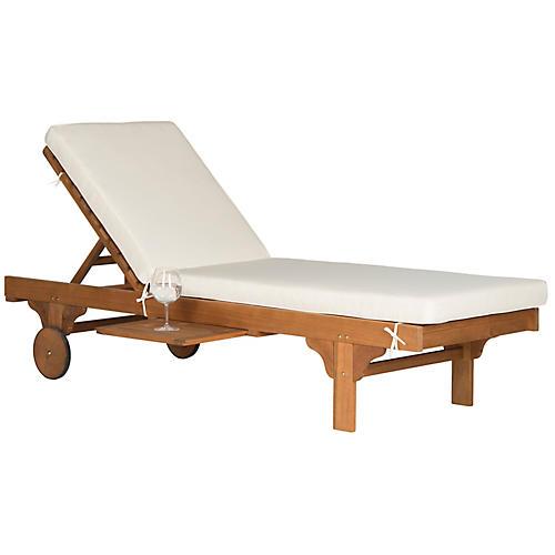 Siesta Chaise, White
