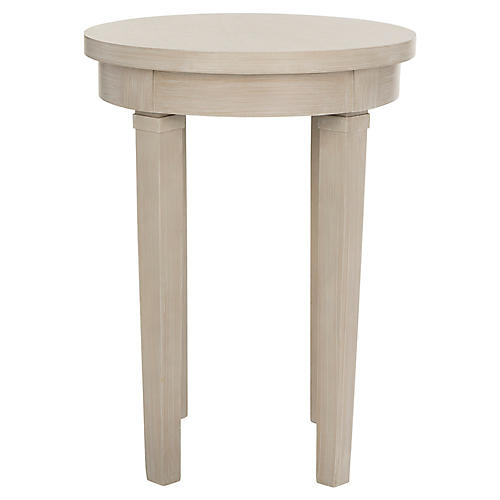 Kellen Round Side Table, Natural