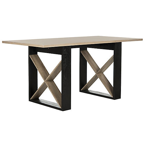 "Inger 63"" Dining Table, Natural"
