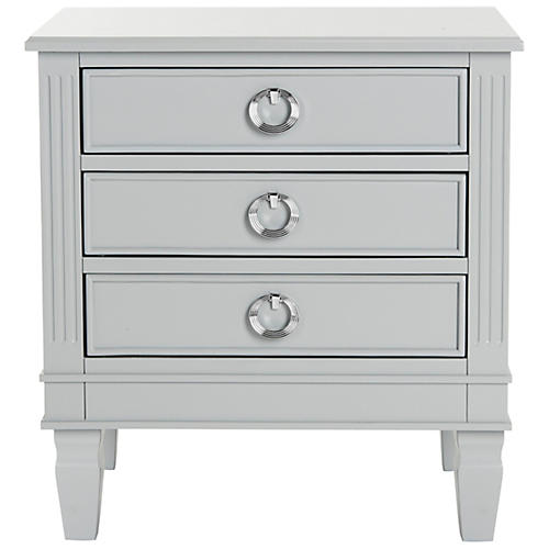 Lene Nightstand, Gray