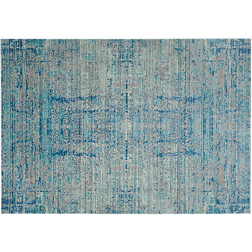 Xanti Rug, Light Blue/Multi