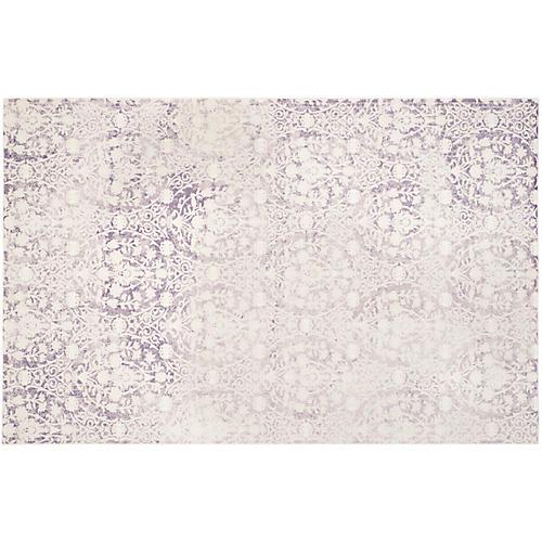 Xue Rug, Lavender/Ivory