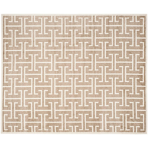 Ganymede Outdoor Rug, Wheat/Beige