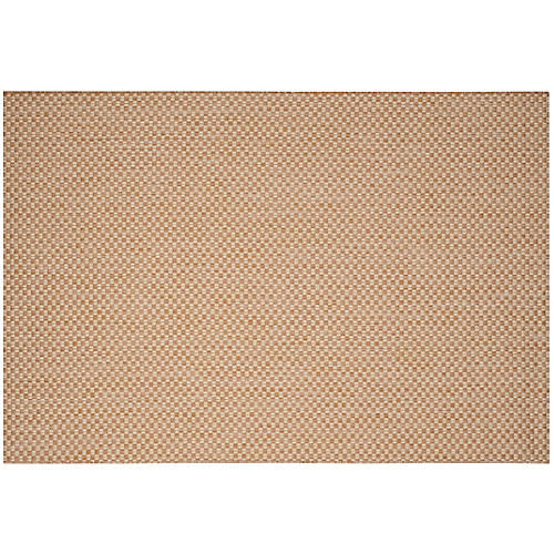 Janus Outdoor Rug, Natural/Cream