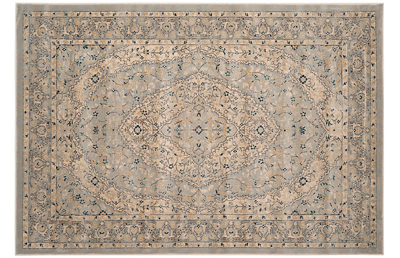 Tillamook Rug, Light Gray/Cream